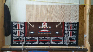 "ELSIE BIA MASTER NAVAJO WEAVER TO DEMONSTRATE FEB 28TH ""Woven Holy People"""