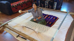 Weaving a Navajo Rug - Beginning to End