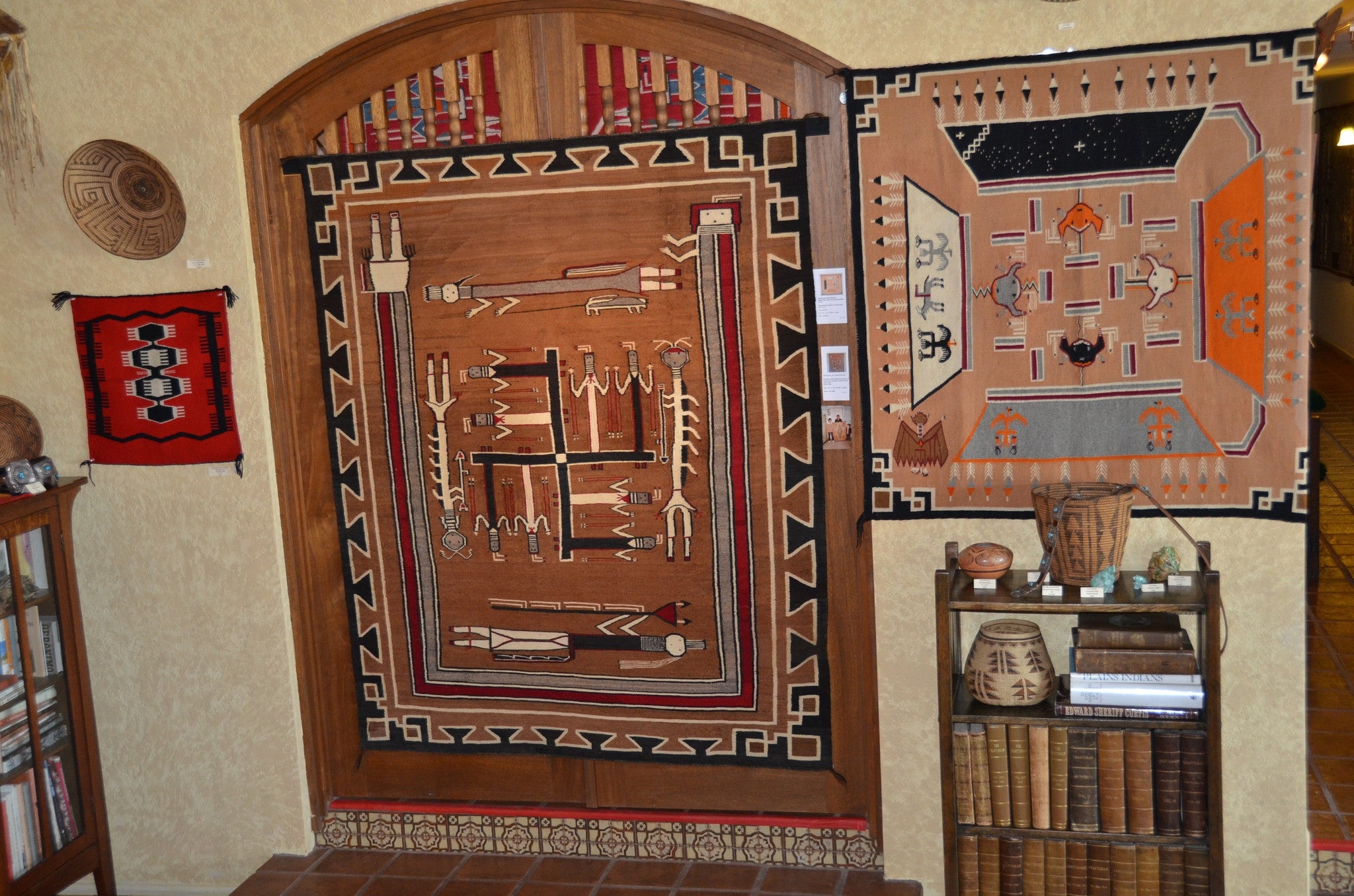 Navajo Rugs Moving Around on the Gallery Walls!