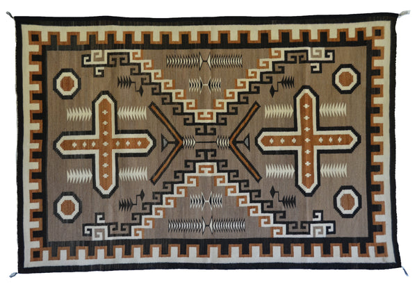 Steve's Two Grey Hills Navajo Weaving of the Week April 16, 2018