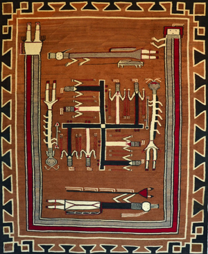 Symbols and Motifs in Navajo Weaving