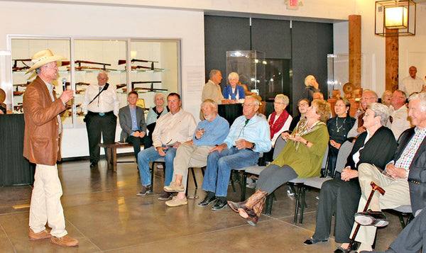 Collection stories intrigue crowd at exhibit opening