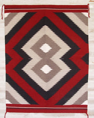 Early Chinle Style Weaving by Master Weaver Charlene Yazzie