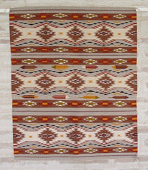 Chinle Weaving by Master Weaver Abigail Smallcanyon Yazzie - circa 2012