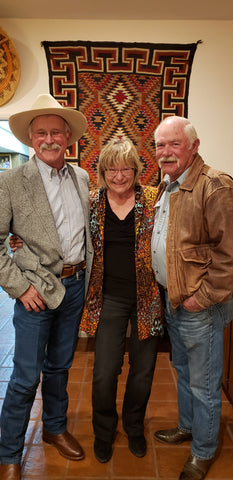 Dave Stamey with Kat Crockett and George Whitmil