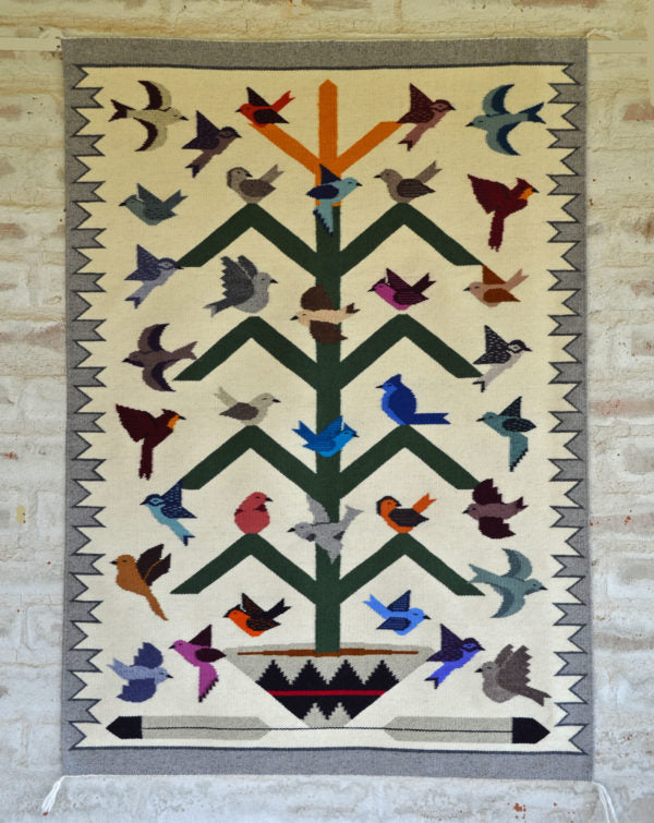 3251 Navajo Tree of life Rug