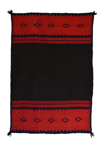 MANTA CLASSIC DRESS PANEL NAVAJO WEAVING : HISTORIC : AC