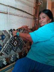 Navajo Blanket Weaving Elsie Bia Nizhoni Ranch Gallery