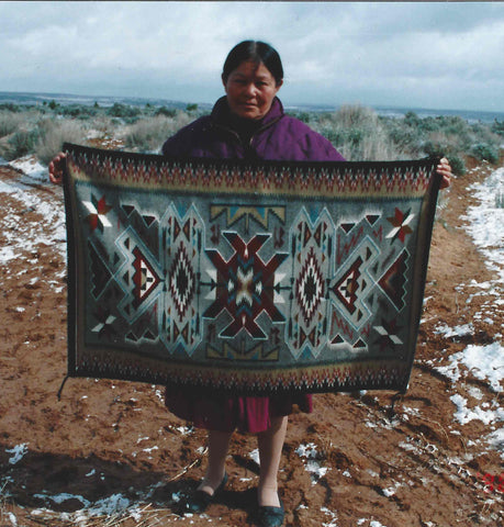 Helen Bia master weaver nizhoni ranch gallery churro collection