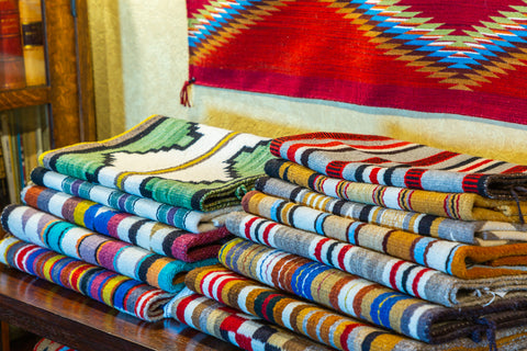 American Indian Saddle Blankets Vintage