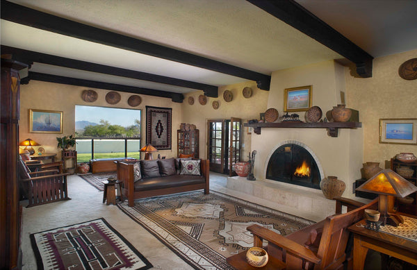 Navajo Style in Interior Design   How to be well-coordinated ... on native american symbol home, celtic style home, mediterranean style home, tipi style home, native american design home, mayan style home, muslim style home, native american art home,