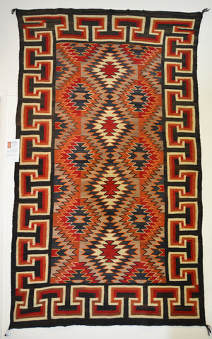 Transitional Antique American Indian Rug