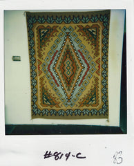 Burntwater Navajo rug woven by Maggie Price