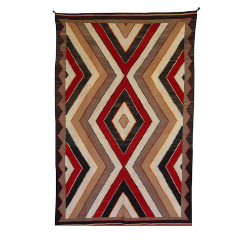 American Indian Rug Red Mesa Style