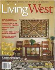 Living West Magazine Cover
