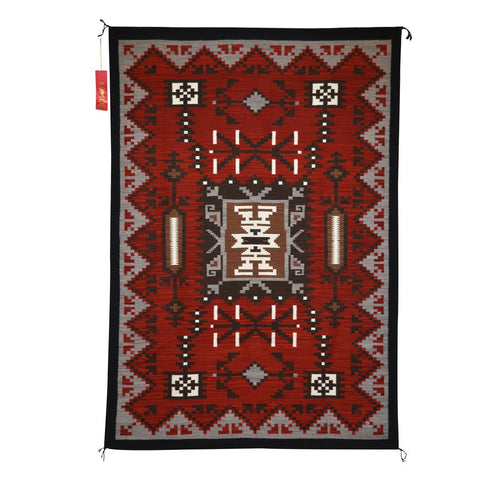 American Indian Rug Storm Style