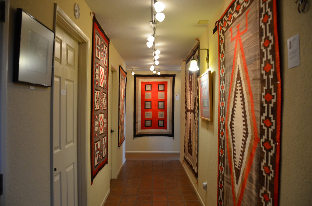 American Indian Transitional Blankets and Rug Gallery Show