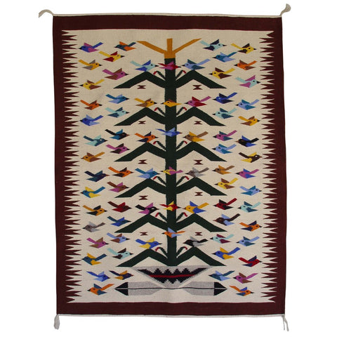 American Indian Rug Tree of Life Style