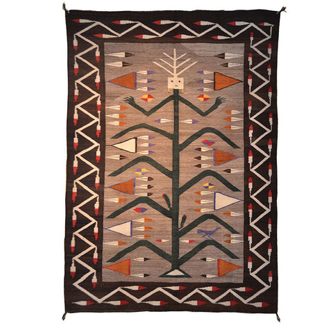 American Indian Rug Yei be Chei Style