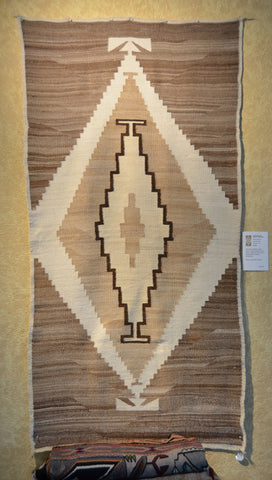 Vintage Transitional Native American Rug