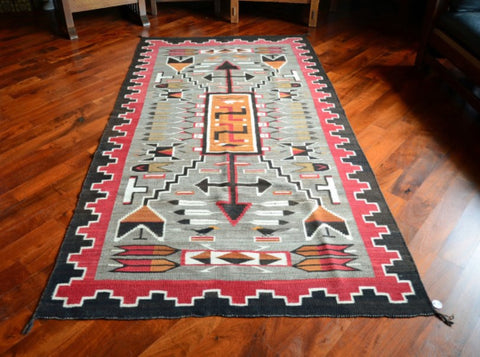 The Navajo people are more than just unmatched craftsman, they're also storytellers that can weave tales of courage, historic deeds and wondrous imagination into the very fabric of their Pictorial Rugs.