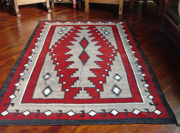 Large  Antique Klagetoh Rug