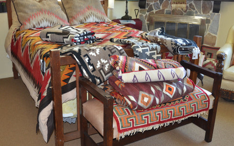 organizing navajo weavings