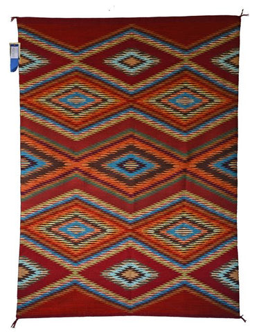 American Indian Rug Eye Dazzler Selena Yazzie Churro 1573