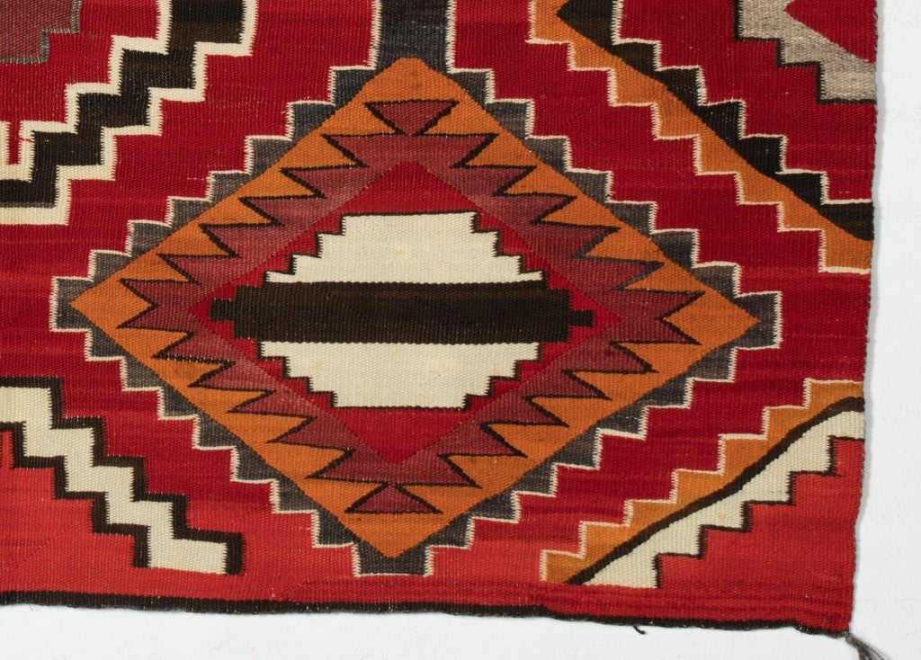 3rd Phase Chief Blanket Navajo Weaving : Historic : PC-72