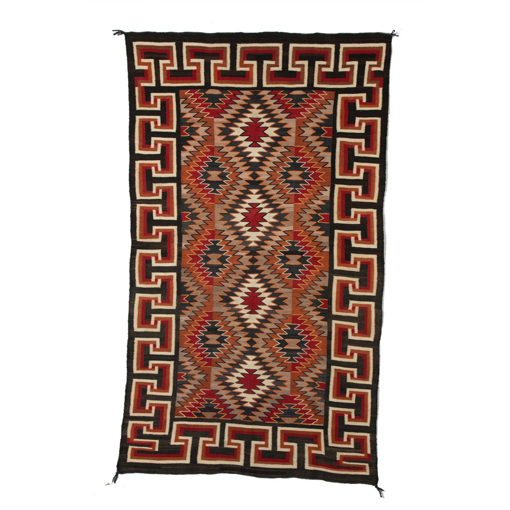 Red Mesa / Teec Nos Pos Navajo Rug Weaving : Historic : PC 73 - Getzwiller's Nizhoni Ranch Gallery