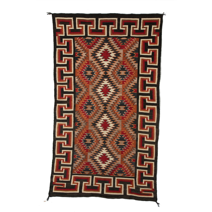 Red Mesa / Teec Nos Pos Navajo Rug Weaving : Historic : PC 73