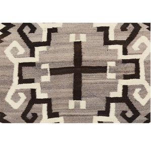Crystal JB Moore Plate XXIII Navajo Weaving : Historic : GHT 1052 : 4'10″ x 9′ - Getzwiller's Nizhoni Ranch Gallery