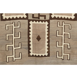 Transitional Navajo textile : Historic : GHT 598 : 5'7″ x 8'8′ - Getzwiller's Nizhoni Ranch Gallery