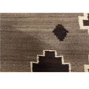 "Crystal Navajo Weaving : Historic : GHT 2193 : 50"" x 81"" - Getzwiller's Nizhoni Ranch Gallery"