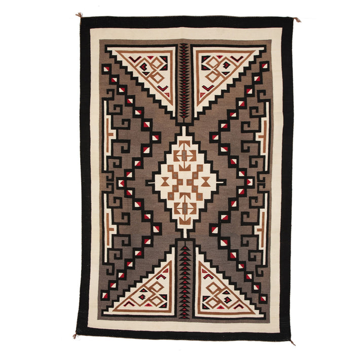 Crystal Navajo Weaving : Historic : GHT 2097 : 94″ x 63″