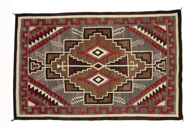 Crystal Navajo Rug : Historic : GHT 812 : 6′ x 9′ - Getzwiller's Nizhoni Ranch Gallery