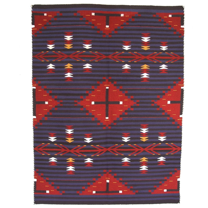 Moki  Navajo Rug Weaving : Eunice Joe : 2062