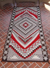 Crystal / Chinle Navajo Weaving : Historic : GHT 1081