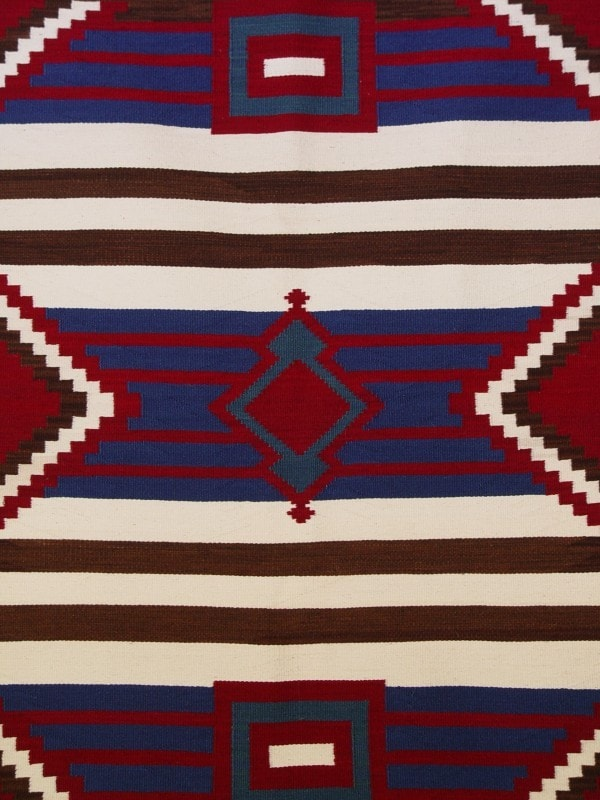3rd Phase Chief Blanket : Briana Clark : Churro 1255 - Chiefs Blankets - Churro Collection- Navajo Rugs - Navajo Textiles