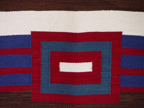 HOLD 3rd Phase Navajo Chief Blanket : Briana Clark : Churro 1255 - Getzwiller's Nizhoni Ranch Gallery