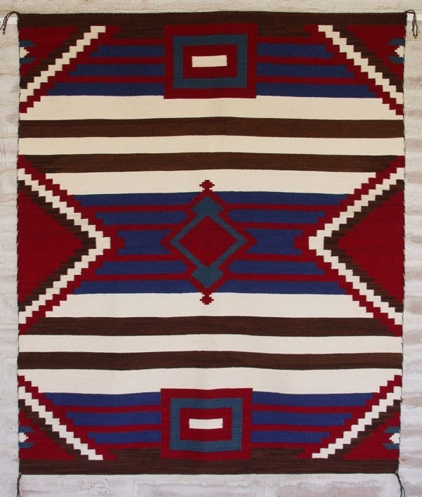 3rd Phase Chief Blanket : Briana Clark : Churro 1255 - Getzwiller's Nizhoni Ranch Gallery