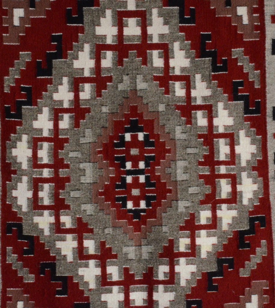 Three Turkey Ruin Ganado Navajo Weaving Rug Art New contemporary