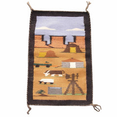 Pictorial - Navajo Daily Life Weaving : Marie Charlie : 1794