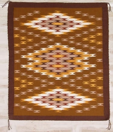 SOLD Chinle Navajo Weaving : Christine Nelson : 1804 - Chinle - Contemporary- Getzwiller's Nizhoni Ranch Gallery - NavajoRug.com