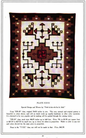 Crystal JB Moore Navajo Rug : Antique : GHT 2185 - Getzwiller's Nizhoni Ranch Gallery