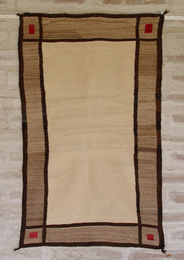 Double Saddle Blanket : Historic Navajo Weaving : GHT 1959 - Getzwiller's Nizhoni Ranch Gallery