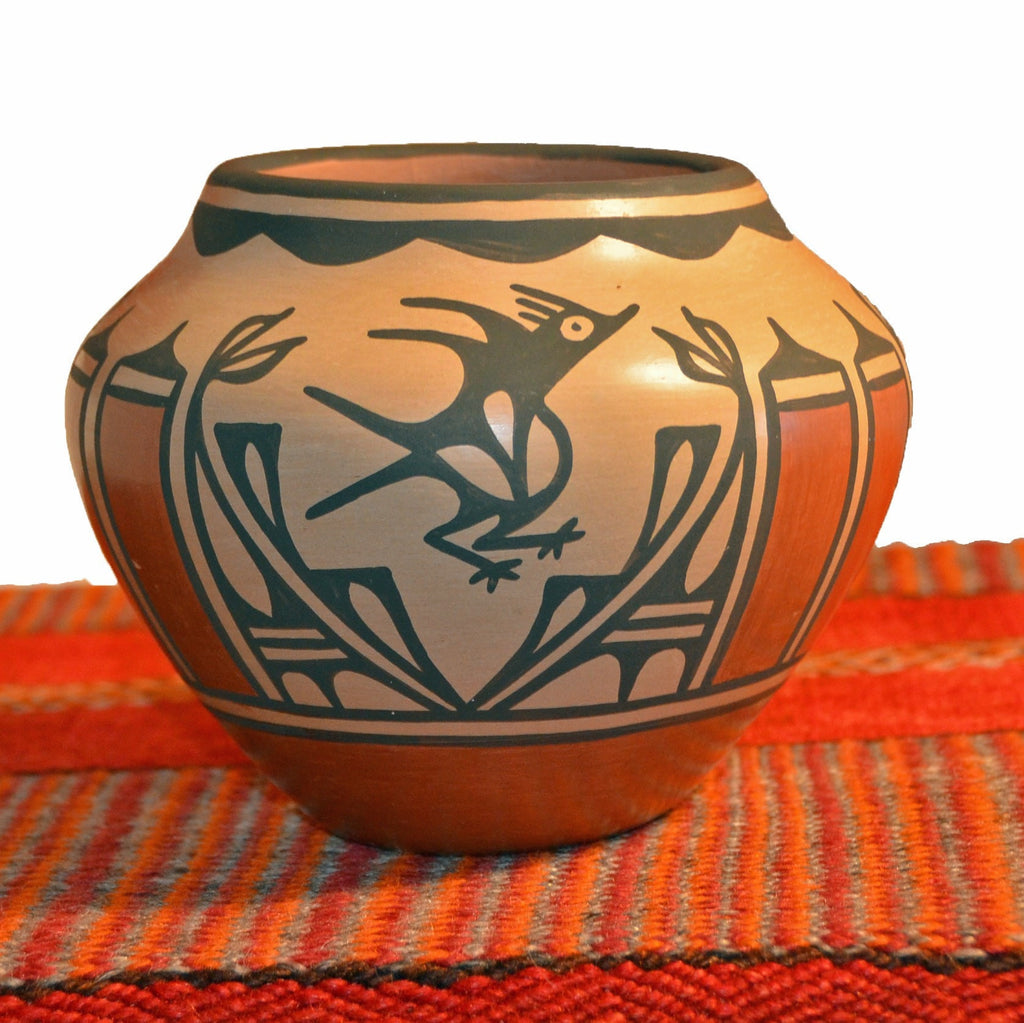 SOLD Zia Pueblo Pottery : Ruby Panana- rp 19 - Pottery - Other Art- Getzwiller's Nizhoni Ranch Gallery - NavajoRug.com