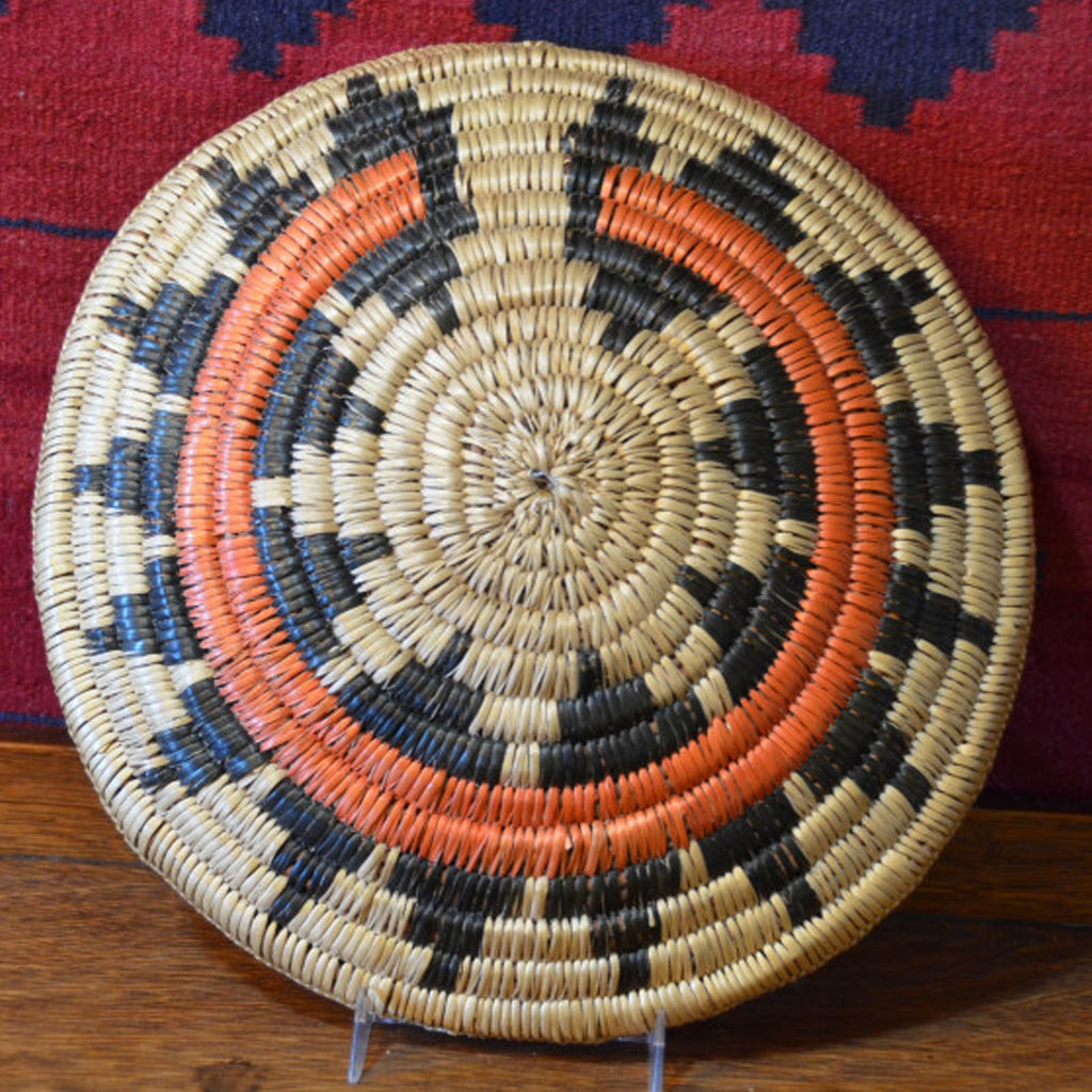 Basket: Navajo Wedding Basket : Basket 13 - Basketry - Other Art- Getzwiller's Nizhoni Ranch Gallery - NavajoRug.com