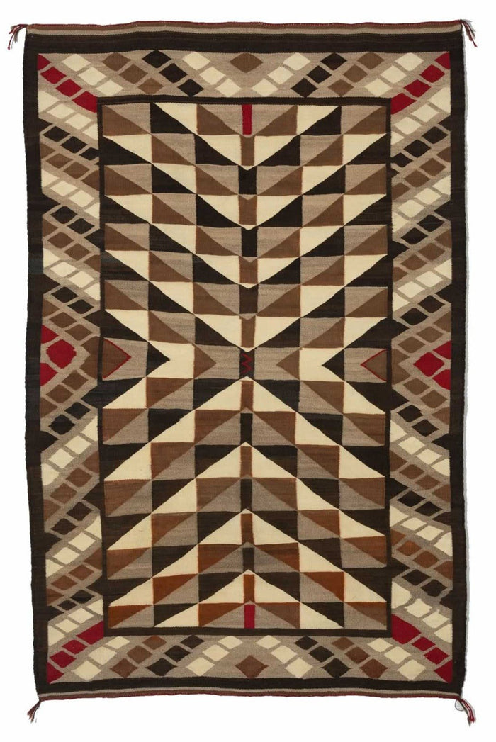 Optical Navajo Weaving : Historic : GHT 2202 : 41″ x 63″