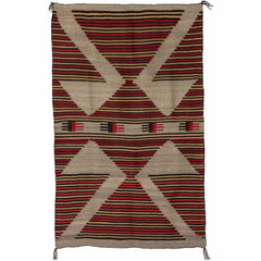 Crystal Optical Navajo Rug Weaving : Historic : PC 45